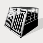 Aluminum Dog cage size 89cm Small Double Door Dog cage 75a 06-0772 Aluminum Dog cage size 89cm Small Double Door Dog cage 75a 06-0772